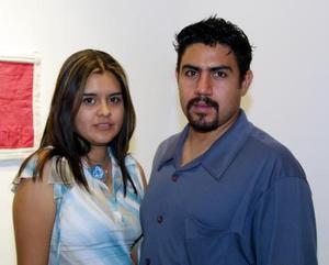 Valeria Venegas y Misael Galván García.