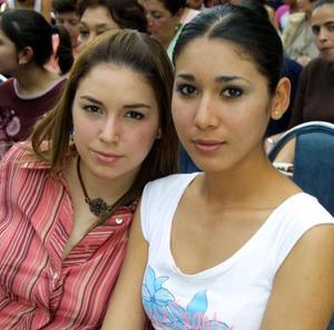 Denisse CHAMUT Y Esther Hernández.