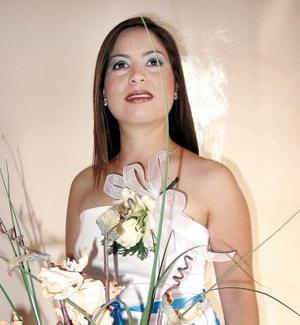 Adriana Ivón Cabral Álvarez en su primera despedida de soltera