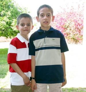 Daniel Estrada Lechuga y Salvador Pérez Estrada, captados recientemente.