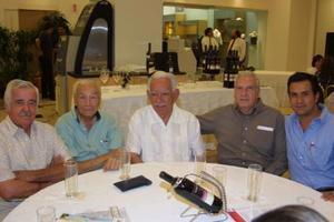 Jesús Salas Falcón, Alberto Allegre Familiar, Ricardo Anaya, Sigfrido Sánchez y Jorge Sánchez.
