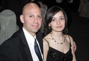 Jorge Thomas y Laura Peniche