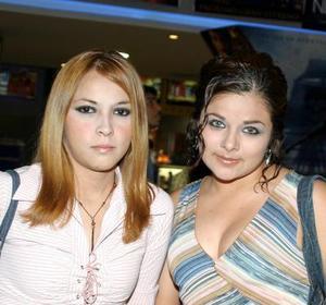 Celeste Silva y Érika Basurta.