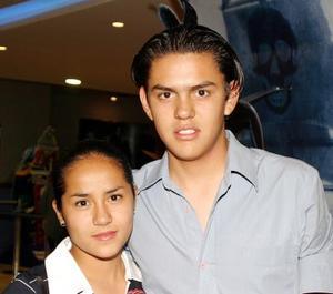 Sofía Gómez y David Lechuga.
