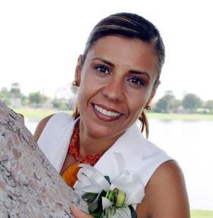 Ana Cristina García Maisterrena, captada en una de sus últimas despedidas.
