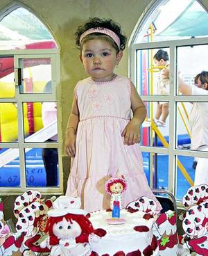 Fernanda Arámbula Escobedo  festejó su segundo cumpleaños de vida, con un divertido convivio que le organizaron sus papás.