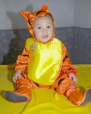 Andrés Fernández Flores disfrutó de una divertida fiesta infantil, con motivo de su primer año de vida.
