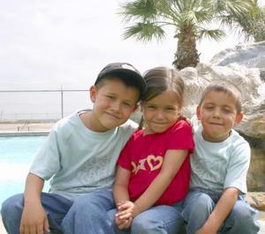 Mario Alberto, Sofía y Leonardo, festejarán el Día del Niño.