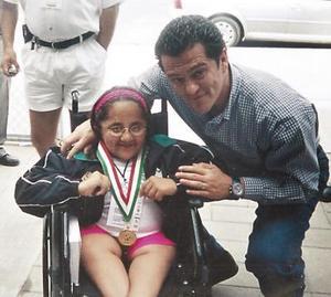 Nadia Cristina Porras Izquierdo, una niña campeona.