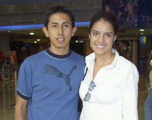 Fernado Pichardo e Hilda Bustamante.