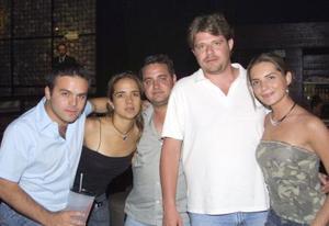 José Antonio Robles, Ale Villalobos, José Humberto García, Toño Dávila y Ale García, captados recientemente.