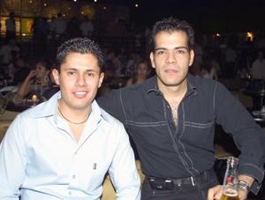 <b><u>16 de mayo </b></u><p> Sergio Kaim y Jorge Zapata.