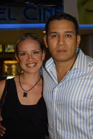 Ana Muruato y Manuel Villegas.