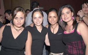 Mala Jaidar, Laura Gómez, Cristy Berlanga y Tanya Gidi, también se hicieron presentes