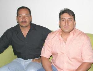 Luis Ángel Lozano y José Ernesto González.