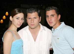 Mónica Cuerda, José Luis Orozco y Luis Monroy.