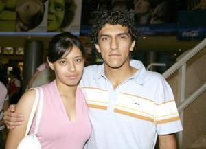 Ileana Miranda y Daniel Atilano