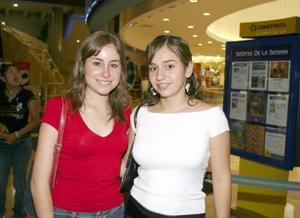 Mayis Garza e Isabel Orozco.