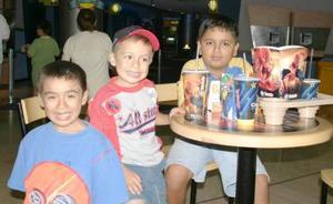 Isaac, Luis, Bairo e Isai Garibay Rodríguez.