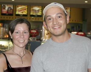 Eva Lotta Bylin y Javier Valdés.