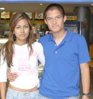 Pamela Cuevas y Omar Rosas.
