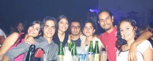 Cecilia Ramírez, Héctor González, Fabiola Vargas, Joadnka Cobián, Alan Rodríguez, Ivonne Rivera y Rogelio Benítez.