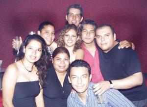 Perla, Rodrigo, Antonio, Gaby, Arturo, Valery, Cinthia y Fernando.