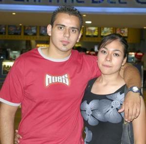 Felipe Muñoz y Elsa Villarreal.
