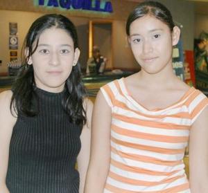 Valeria Ríos y Ana Laura Zamora.