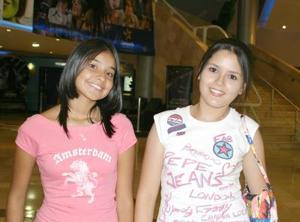 Betty González y Alejandra Ramos