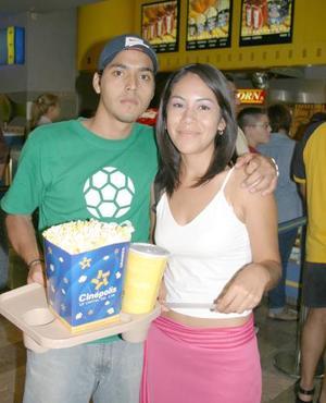 Jaime Alvarado y Marcela Rivas