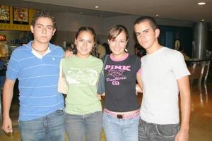 José Luis Yañez, Alejandra Sánchez, Elva Cervantes y Carlos Márquez