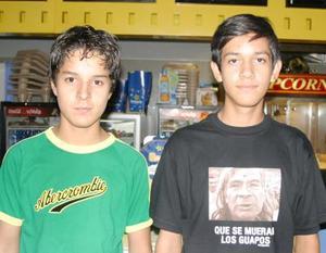 Alberto Saavedra y Gerardo Alba.