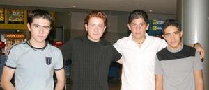 José Humberto Valdez, Samuel José Lara, Armando Acosta y Santiago Ávalos.