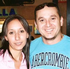 Adriana Braham y José Gorostiaga.