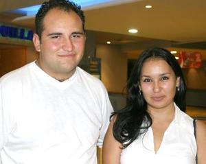 Iván Emmanuel Galván y Goretti Sánchez.