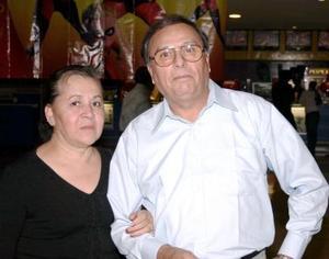 José Francisco García Fernández y Catalina Loyola.