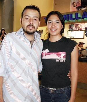 David Torres y Samantha López.