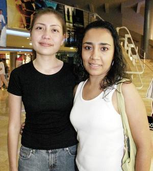 Ethel Rodríguez y Ana Cristina Robles.