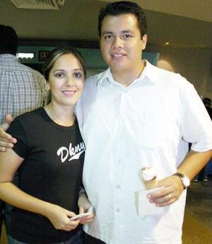 Gabriela y Salvador Ruiz.