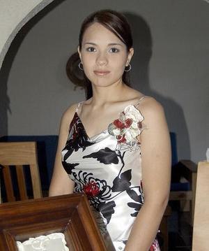 Érika García fue despedida de su soltería.
