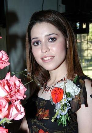 Ivonne Araceli Caro Sifuentes, en su primera despedida de soltera.