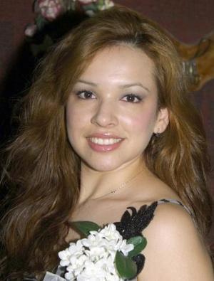 María Luisa García Díaz, captada en la despedida de soltera que le ofrecieron por su próxima boda.