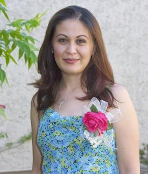 L.A.E. Beatriz Mireles Pámanes. en su despedida de soltera