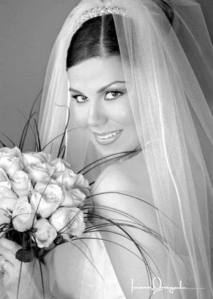 Lic. Beatriz Esparza Braña unió su vida en el Sacramento del matrimonio a la del Ing. Raúl Iván Arredondo Orozco