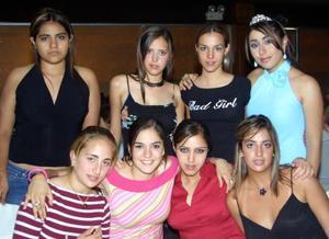 Mariana Saad, Ana Laura Quintero, Rosario Salas, Andrea Portal, Paulina Perches, Nataly Zarzar y Valeria Jardón