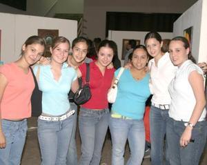 Georgina MEna, Any Barrio, Mariana Díaz de León, Andrea Marroquín, Karla Garza y Valeria Córdoba.