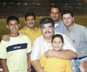 Martín Martínez, Ricardo Ortiz, Manuel Torres, Diego Montemayor, ricardo Ortiz Jr. e Iván Ortiz.