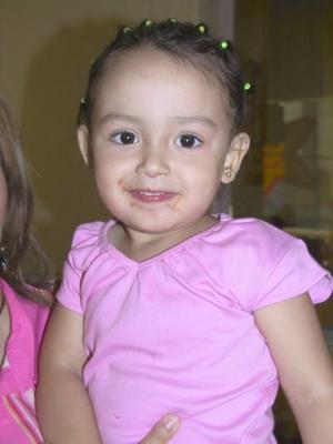 La pequeña Daniela Morales disfrutó de un grato convivio infantil, con motivo de su tercer cumplaños.