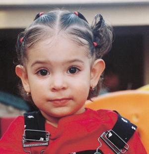 Hava Mariana Díaz Garza festejó dos años de edad con un divertido  convivio que le ofreció su mamá María de los Ángeles Díaz Garza